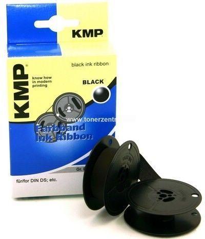 KMP 0001.0101 Farbband DIN Doppelspule - 13mm-10m - Nylon Schwarz