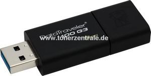 KINGSTON DT100G3 USB-Stick 8GB - DT100G3 black DataTraveler 100 G3,black,KINGSTON USB3.0