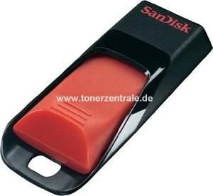 SANDISK USB-Stick SDCZ51-008fb35 - 8GB  Cruzer Edge schwarz-rot