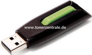 VERBATIM 49177 USB-Stick - 16GB V3 SnG - 400x 60MB-s lesen - grün - USB3.0