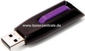 VERBATIM 49180 USB-Stick - 16GB V3 SnG - 400x 60MB-s lesen - violett - USB3.0