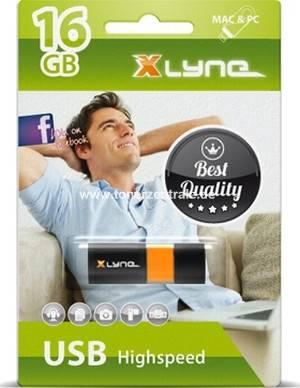 USB-Stick 16GB - 7116000 XLYNE Wave 53xmit schiebarer Schutzkappe