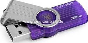 KINGSTON USB-STICK 32GB - KINGSTON DT101G2 pur. DataTraveler 101,purple