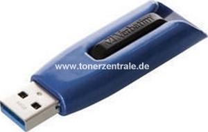 VERBATIM 49807 USB-Stick - 64GB V3 MAX - 1150x 175MB-s  schreiben-lesen USB3.0