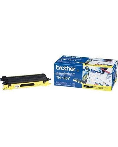 Brother DCP9040, HL4040 - Toner TN135Y - 4.000 Seiten Yellow