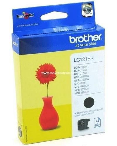 Brother Tintenpatrone LC121BK - 300 Seiten Schwarz