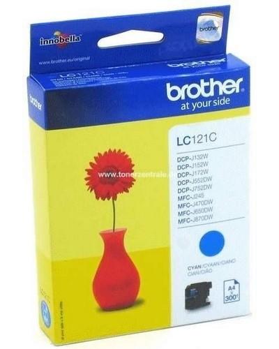 Brother Tintenpatrone LC121C - 300 Seiten Cyan