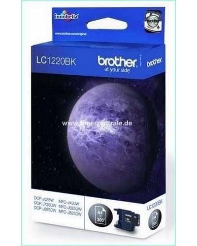 Brother LC1220B Tintenpatrone 300 Seiten Schwarz