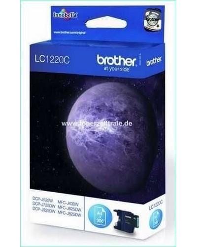 Brother LC1220C Tintenpatrone 300 Seiten Cyan