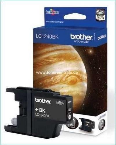 Brother MFC-J 6510 - LC124BK0 Druckerpatrone 600 Seiten Schwarz