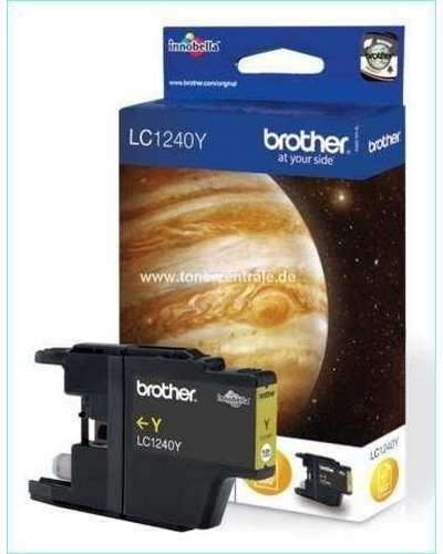 Brother MFC-J 6510 - LC1240Y Druckerpatrone 600 Seiten Yellow