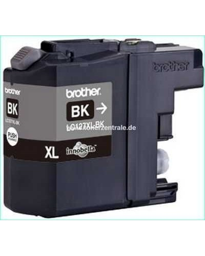 Brother Tintenpatrone LC127XLBK - 1.200 Seiten Schwarz