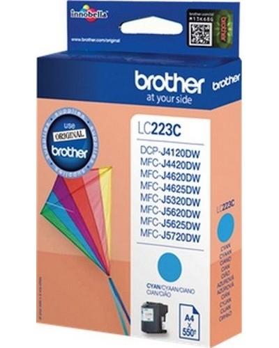 Brother Tintenpatrone LC-223C - 550 Seiten Cyan
