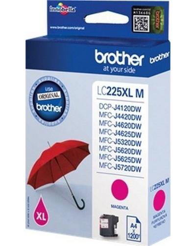 Brother MFC-J4620 - LC225M XL Tintenpatrone - 1.200 Seiten Magenta
