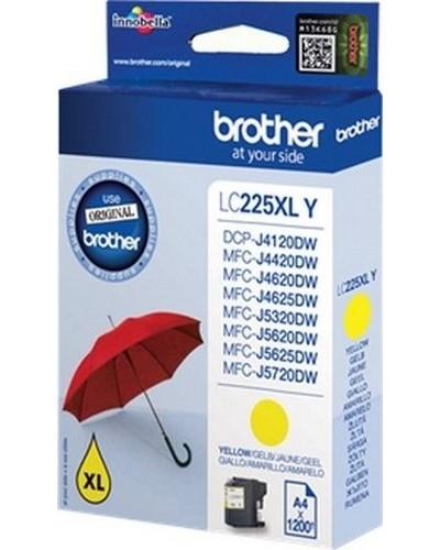 Brother MFC-J4620 - LC225Y XL Tintenpatrone - 1.200 Seiten Yellow
