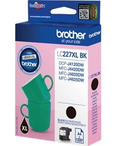 Brother MFC-J4620 - XL Tintenpatrone LC227BK- 1.200 Seiten Schwarz