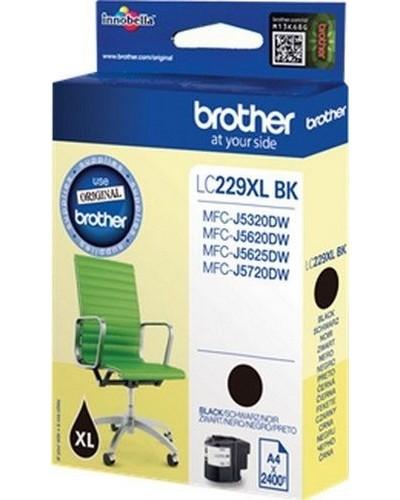 Brother MFC-J4620 - XL Tintenpatrone LC229BK- 2.400 Seiten Schwarz
