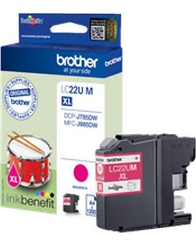 Brother MFC-J985 - Druckerpatrone LC22UM - 1.200 Seiten Magenta
