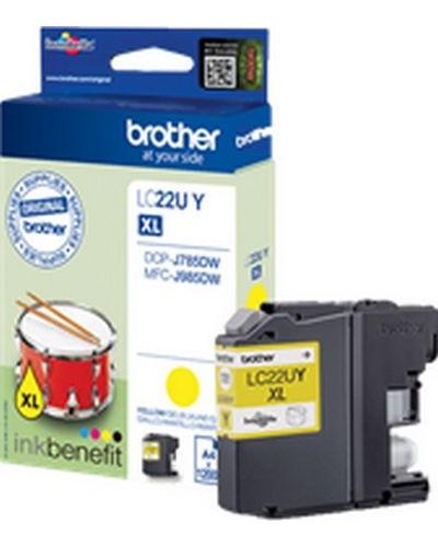 Brother MFC-J985 - Druckerpatrone LC22UY - 1.200 Seiten Yellow