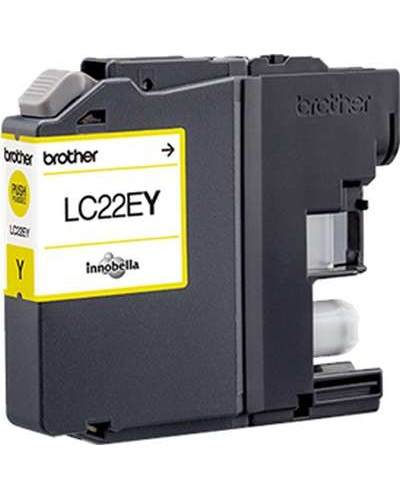 Brother MFC-J 5920 - Tintenpatrone LC22Y - 1.200 Seiten Yellow