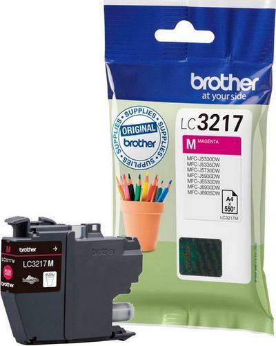 Brother MFCJ6530 - LC3217M Druckerpatrone - 550 Seiten Magenta