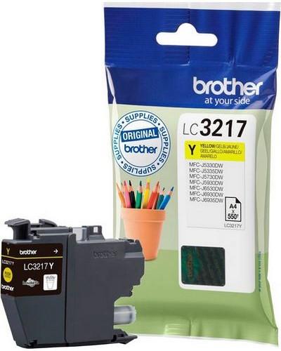 Brother MFCJ6530 - LC3217Y Druckerpatrone - 550 Seiten Yellow