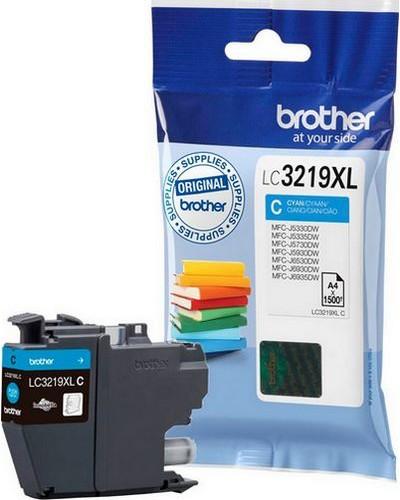 Brother MFCJ6530 - LC3219C XL Druckerpatrone - 1.500 Seiten Cyan