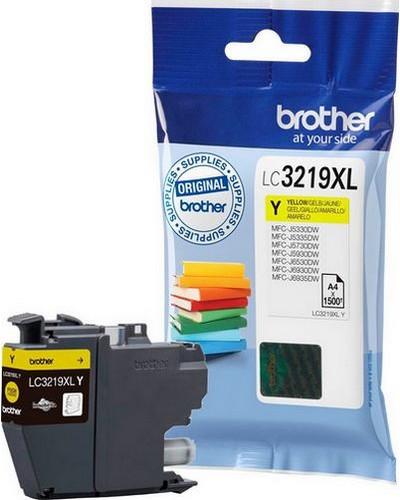 Brother MFCJ6530 - LC3219Y XL Druckerpatrone - 1.500 Seiten Yellow