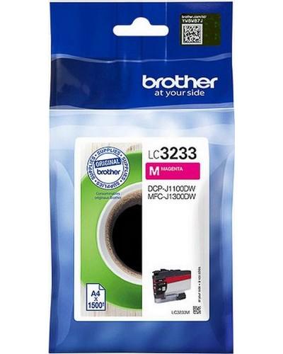 Brother Druckerpatrone LC3233M 1.500 Seiten Magenta