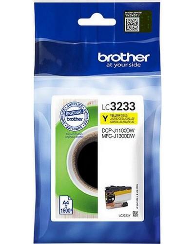 Brother Druckerpatrone LC3233Y 1.500 Seiten Gelb