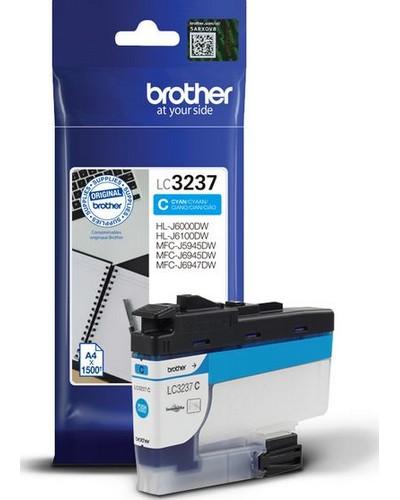 Brother Druckerpatrone LC3237C Cyan 1.500 Seiten