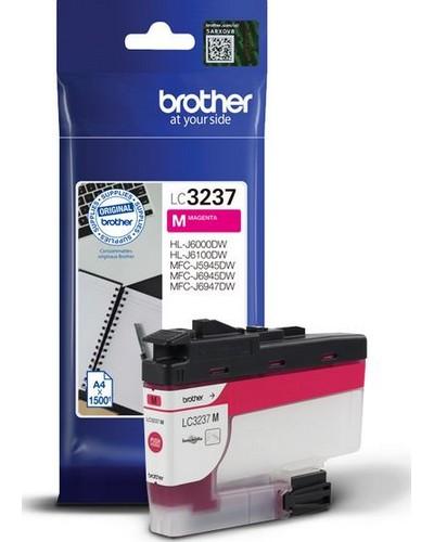 Brother Druckerpatrone LC3237M Magenta 1.500 Seiten