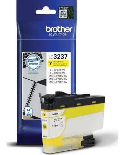 Brother Druckerpatrone LC3237Y Yellow 1.500 Seiten