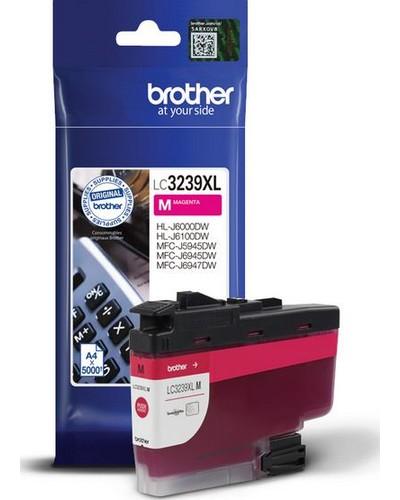 Brother Druckerpatrone LC3239XL M Magenta  5.000 Seiten