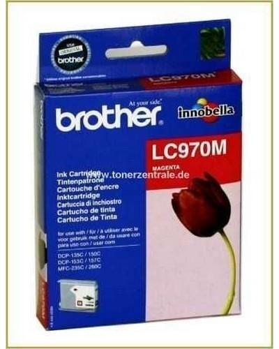 Brother Tintenpatrone LC-970M Magenta