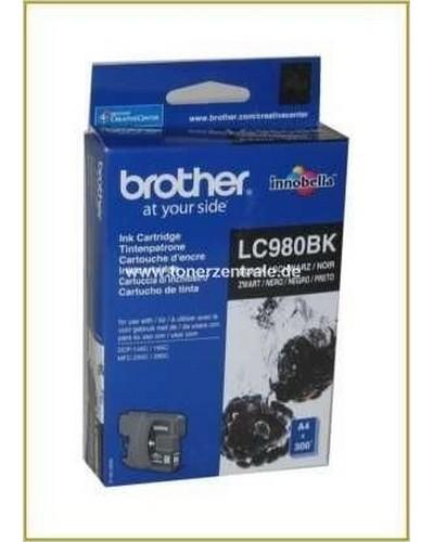 Brother Tintenpatrone LC-980BK, 6ml Schwarz