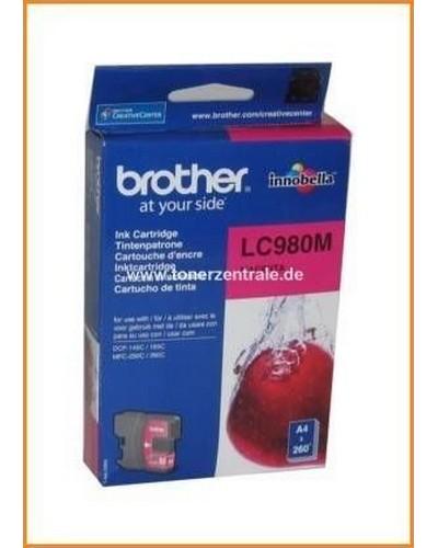 Brother Tintenpatrone LC-980M, 5,5ml Magenta