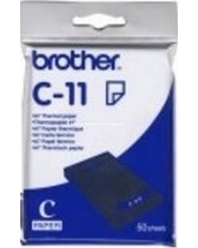 Brother MW 100-120-140-BT - C11 Thermo Papier A7 50 Blätter 105 x 74mm