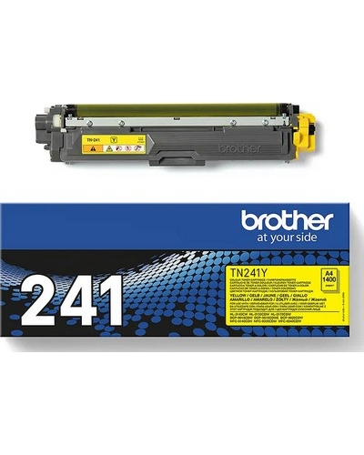 Brother Toner TN241Y Yellow 1.400 Seiten