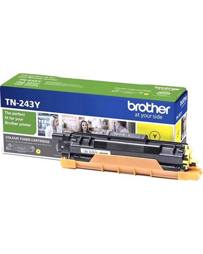 Brother Toner TN243Y Yellow 1.000 Seiten