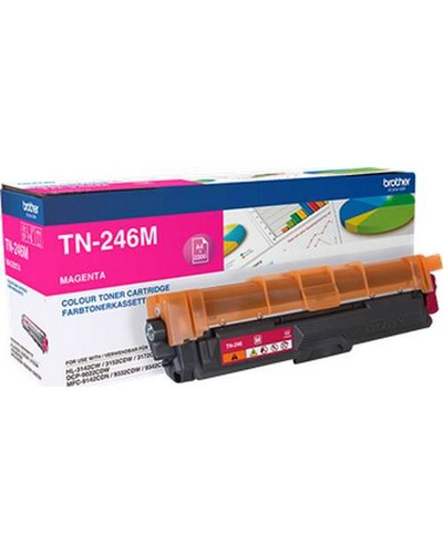 Brother HL 3142 - Toner TN246M Magenta 2.200 Seiten