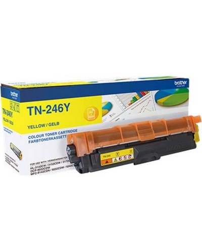 Brother HL 3142 - Toner TN246Y Yellow 2.200 Seiten