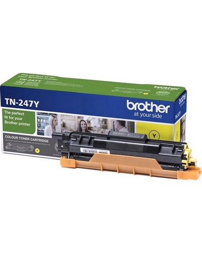 Brother Toner TN247Y Yellow 2.300 Seiten