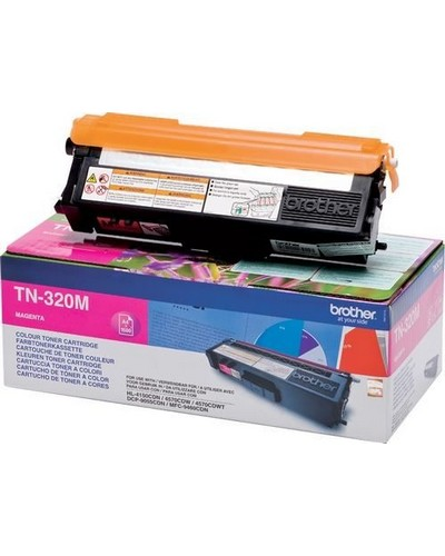 Brother Toner TN-320M - 1.500 Seiten Magenta