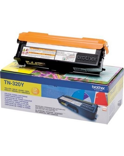 Brother Toner TN-320Y - 1.500 Seiten Yellow