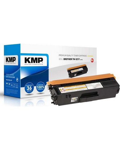 BROTHER DCP-L8450 - Toner ersetzt TN321Y Rebuilt - 1.500 Seiten Yellow