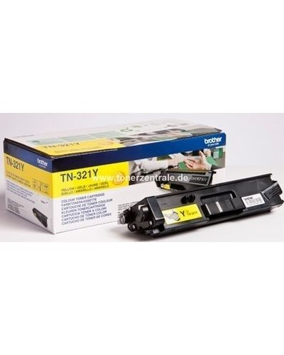 Brother Toner TN321Y - 1.500 Seiten Yellow