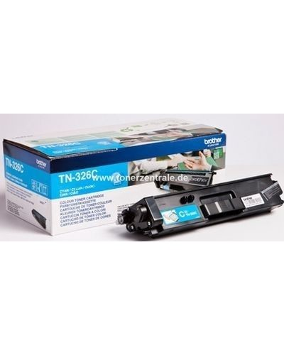 Brother Toner TN326C Cyan 3.500 Seiten