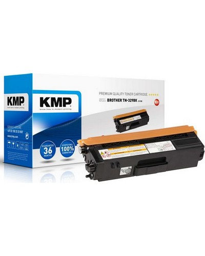 Brother DCPL8450 - ersetzt Toner TN329BK Rebuilt - 6.000 Seiten Schwarz