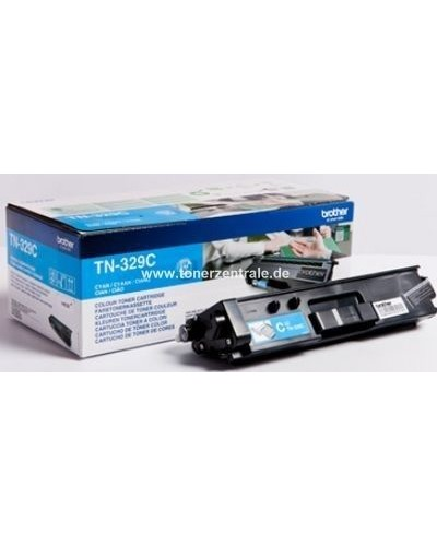 Brother Toner TN-329C - 6.000 Seiten Cyan